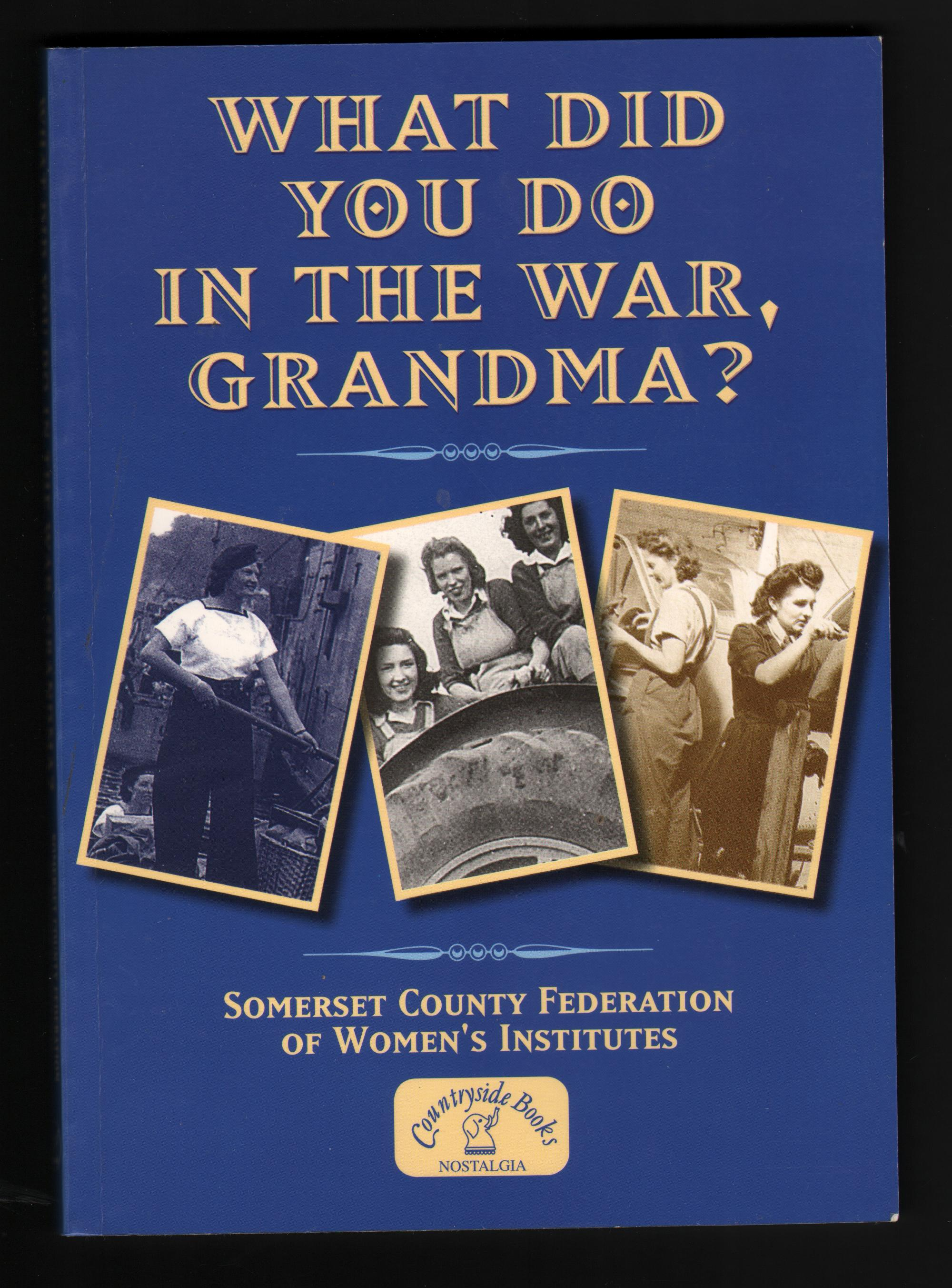 What did you do in the Great War, grandma?