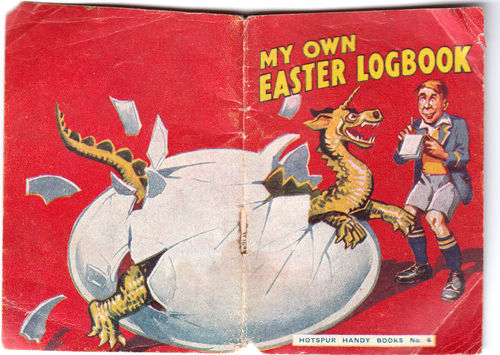 Image for My Own Easter Logbook. Hotspur Handy Books No.4.