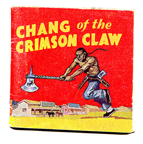 Image for Chang of the Crimson Claw.  Adventure Vest Pocket Library No.4.