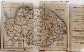 Image for The Norfolk Tour: Or, Traveller's Pocket Companion. Being a Concise Description of All the principal Towns, Noblemens' and Gentlemens' Seats, And other Remarkable Places. In the County of Norfolk...