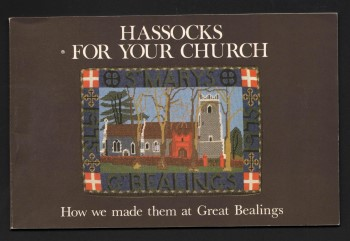 Image for Hassocks for your Church.  How we made them at Great Bealings.