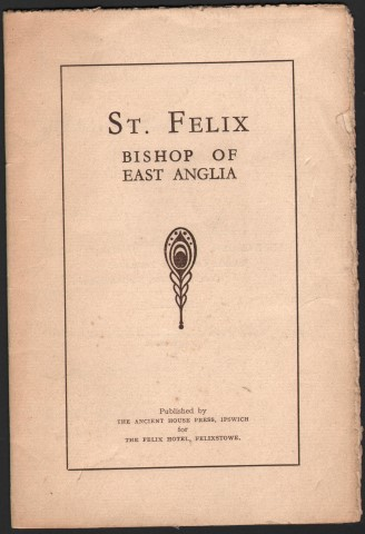 Image for St. Felix Bishop Of East Anglia.