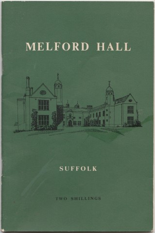 Image for Melford Hall. Suffolk. A Property of the National Trust Home of Sir Richard Hyde Parker, Bt.