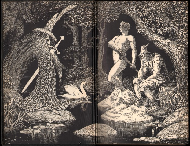 Image for Figures of Earth. A Comedy of Appearances. (Illustrated by Frank C.Papé).