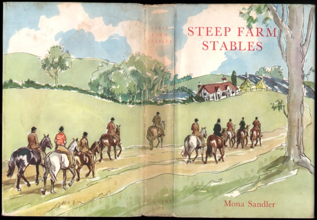 Image for Steep Farm Stables. (Illustrated by Sheila Rose).