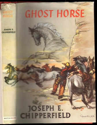 Image for Ghost Horse.  Stallion of the Oregon Trail.  (Illustrated by C.Gifford Ambler).