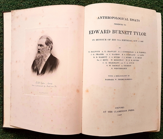 Image for Anthropological Essays Presented to Edward Burnett Tylor in Honour of His 75th Birthday, Oct. 2, 1907