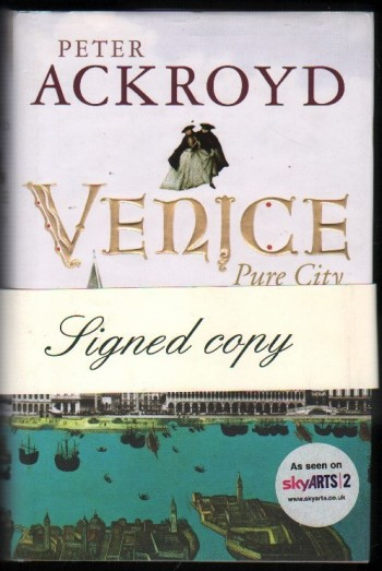 Image for Venice.  Pure City.  (Signed).