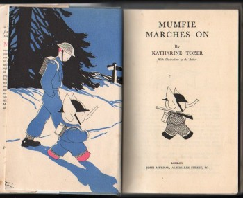 Image for Mumfie Marches On.  (with illustrations by the author).