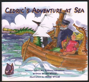 Image for Cedric's Adventure at Sea. (Illustrated by Miggie Wyllie).