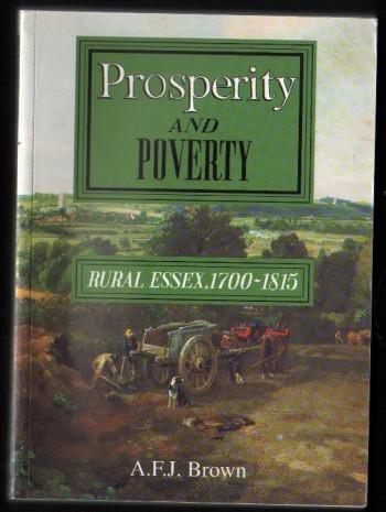 Image for Prosperity and Poverty. Rural Essex, 1700-1815.