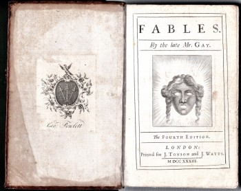 Image for Fables By The Late Mr. Gay.  The Fourth Edition .