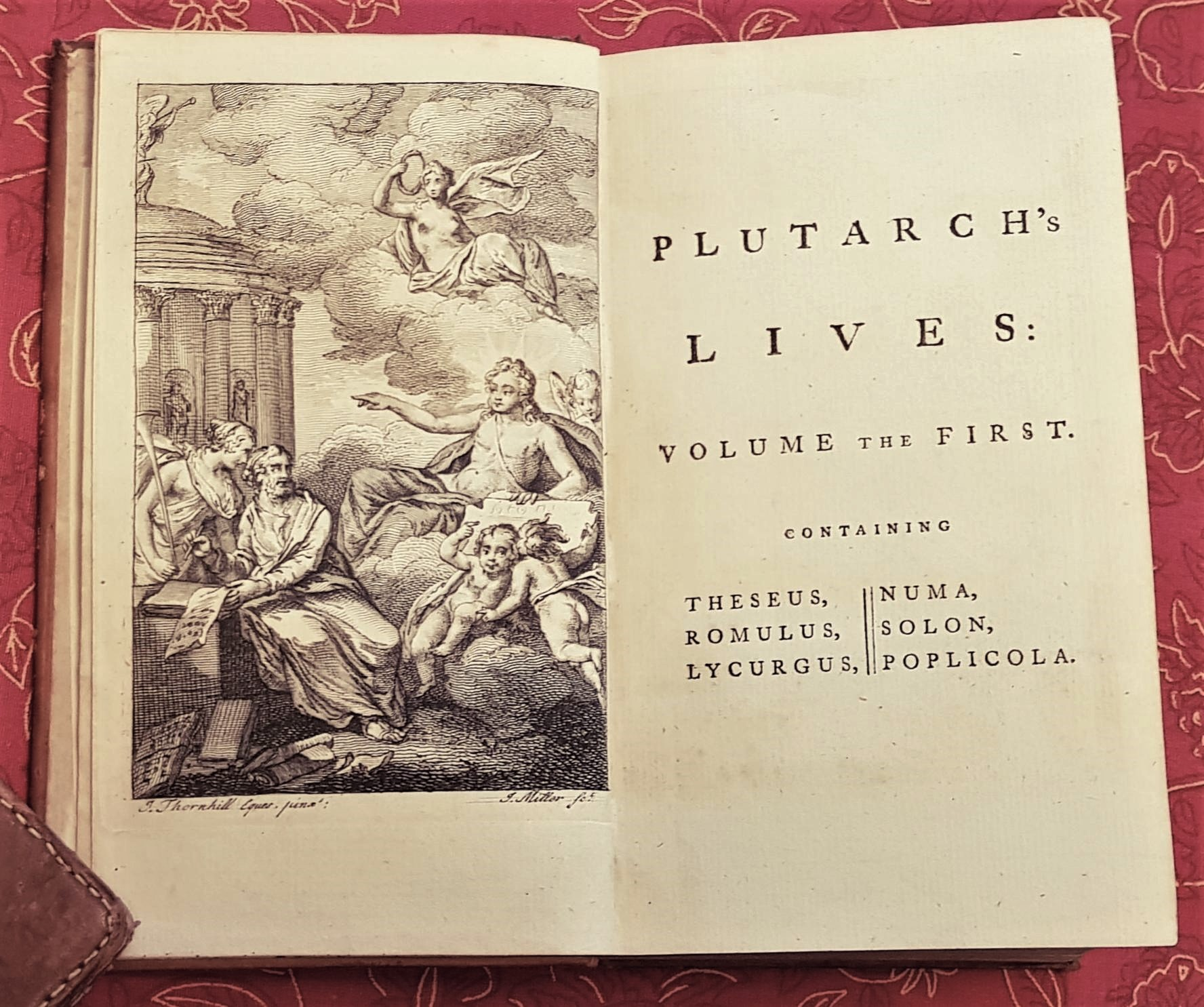 Image for Plutarch's Lives, In Eight Volumes: Translated from the Greek. With notes, explanatory and critical, from Dacier and others. To which is prefixed The Life of Plutarch, written by Dryden.