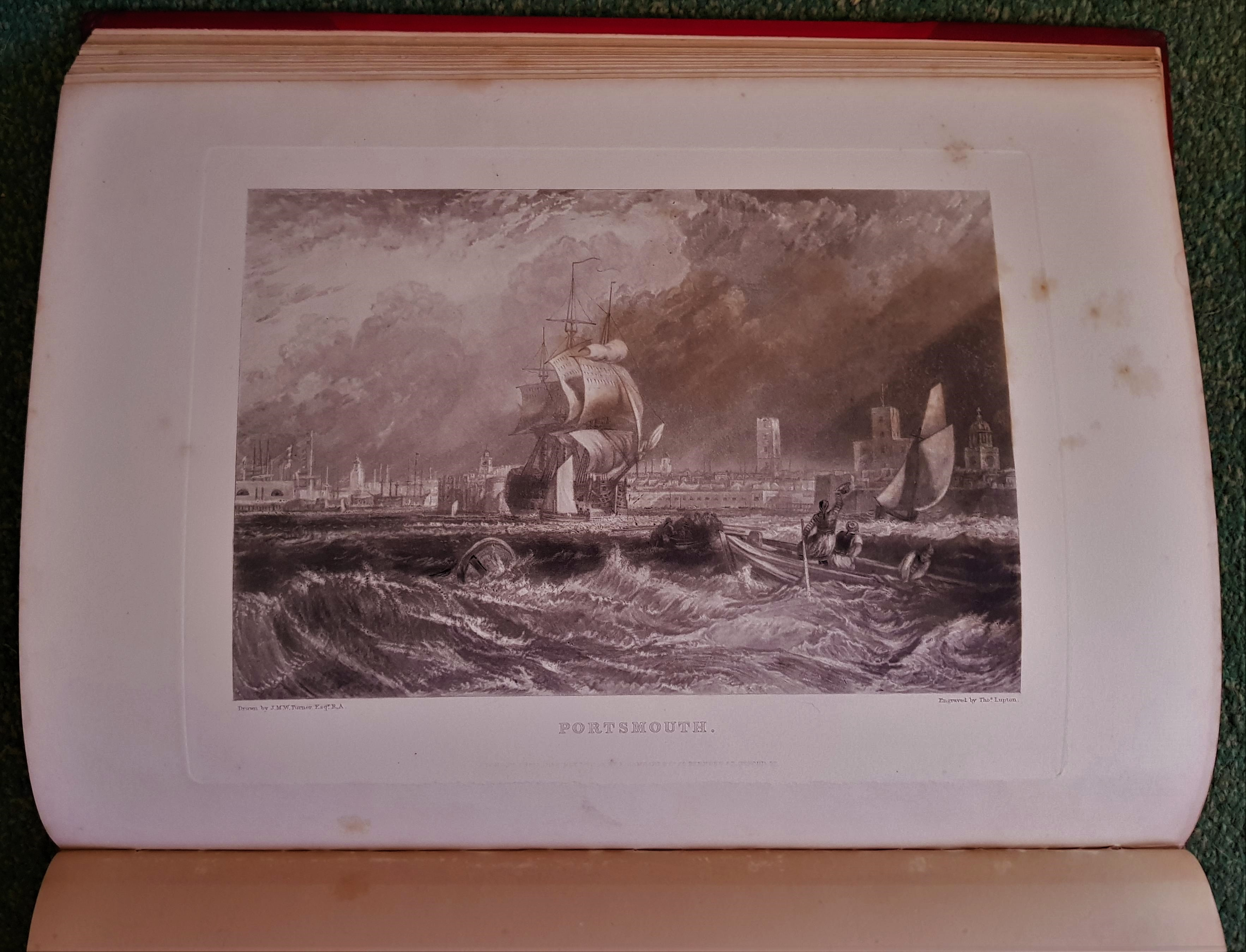 Image for The Harbours of England. Engraved By Lupton from Original drawings made expressly for the work by J. M. W. Turner R.A. with Illustrative Text By J. Ruskin .