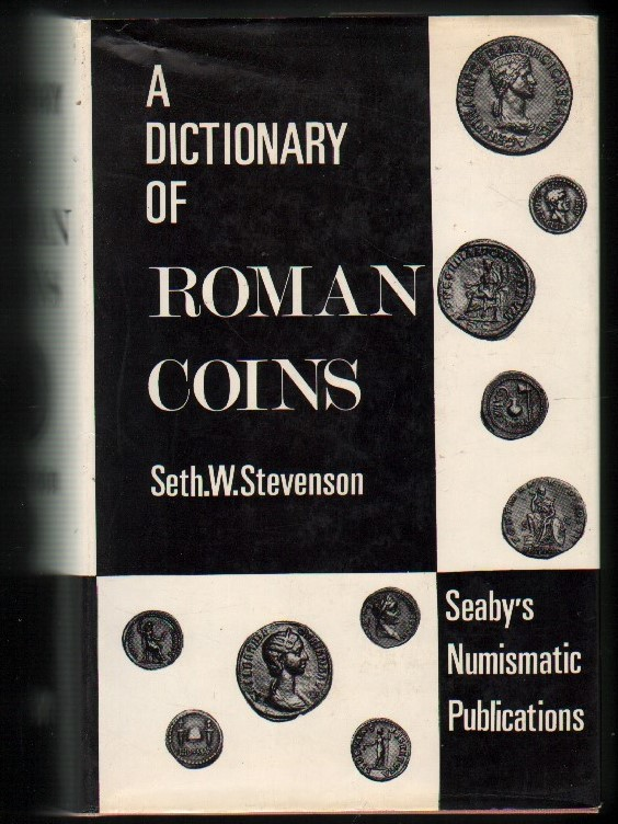 Image for A Dictionary of Roman Coins.