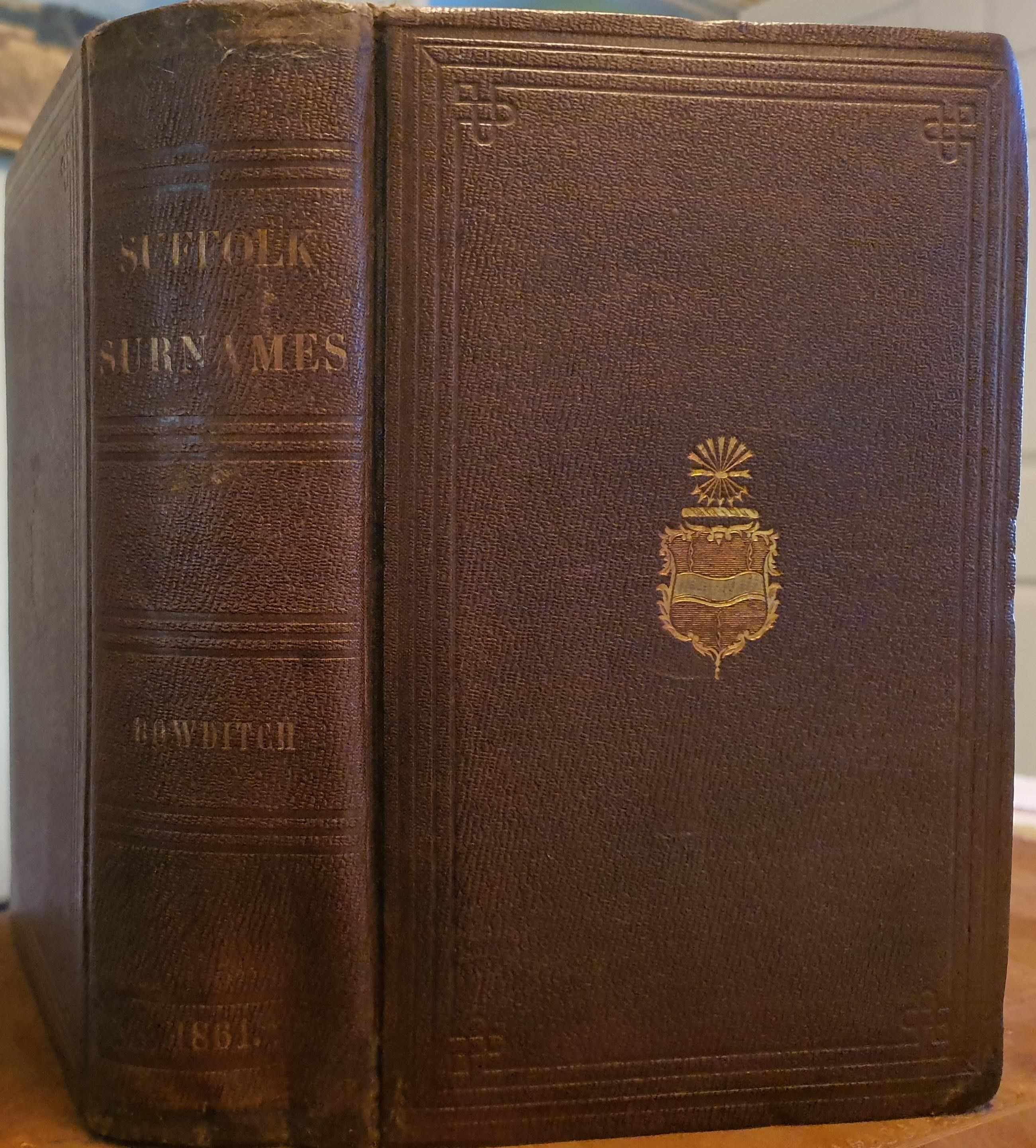 Image for Suffolk Surnames. By N. I. Bowditch. Third Edition.