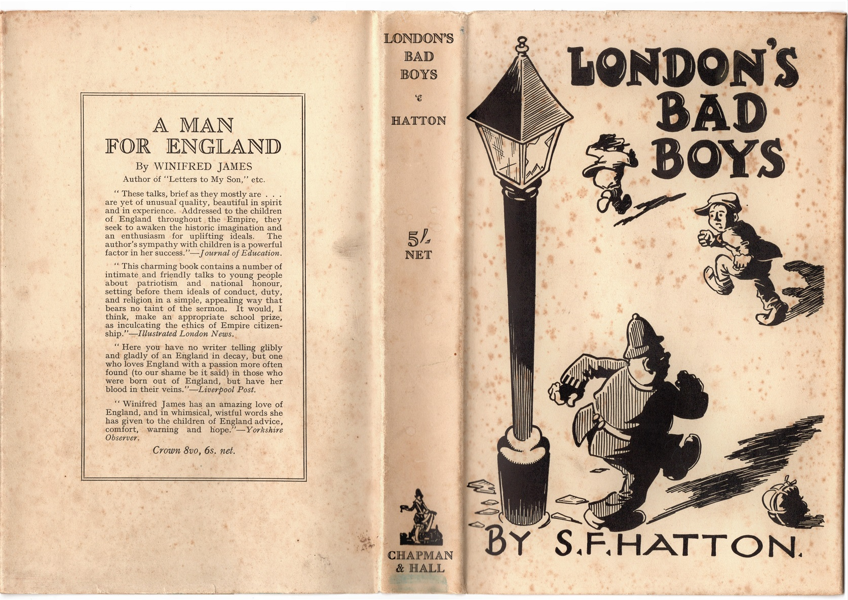 Image for London's Bad Boys by S. F. Hatton .
