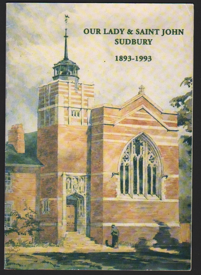 Image for Our Lady & Saint John Sudbury 1893-1993.