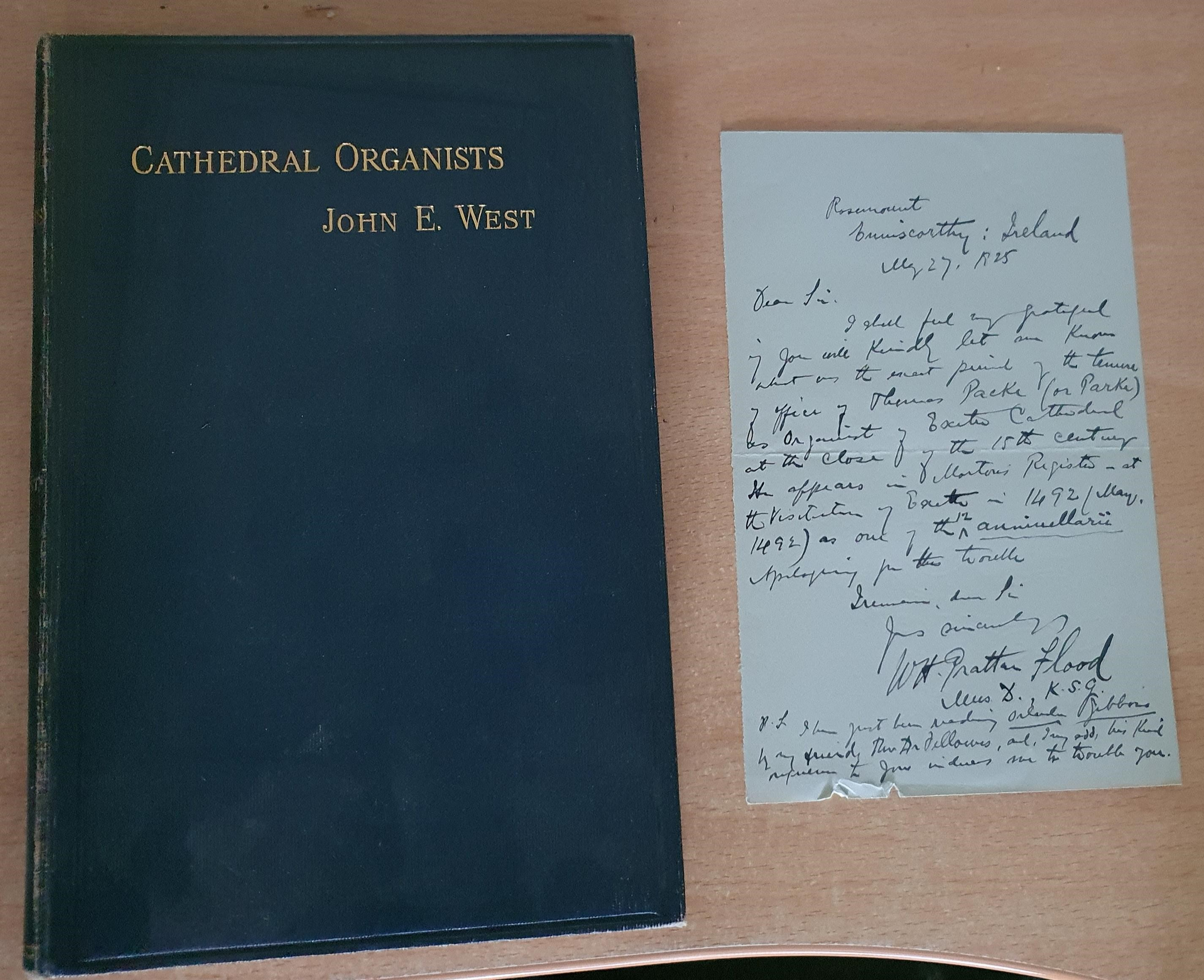 Image for Cathedral Organists Past and Present  A Record of the Succession of Organists of the Cathedrals Chapels Royal and Principal Collegiate Churches of the United Kingdom from About the Period of the Reformation Until the Present Day...